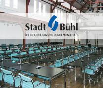 Ratssaal des Friedrichbaus in Bühl