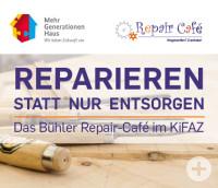 Repair-Café im Kinder- und Familienzentrum Mehrgenerationenhaus Bühl