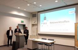 Das Netzwerk Industrie 4.0 der Bühler Wirtschaftsförderung besuchte die Robert Bosch GmbH in Bühl.