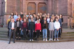 Schüler des Collège-Lycée Claude Bernard aus Villefranche zu Gast in Bühl