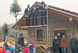 Kindergarten in Neusatz erhält Waldhaus