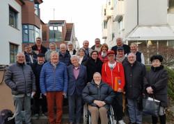 Die 21 Mitglieder des Bühler Seniorenrats