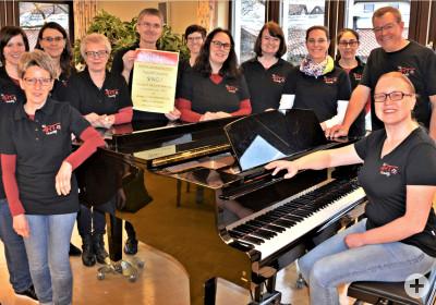 TonART Probe 2019 im Pfarrheim