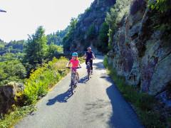 """Die """"Stadtradeln-Stars"""" berichten: Ein weiteres Highlight der Radelwoche war außerdem die große Familientour """"Tour de Murg"""" für Sonja und Finja Fröhlich aus Eisental."""