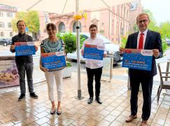 Große Gewinn-Aktion der Innenstadtgemeinschaft Bühl in Aktion (Bina)