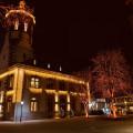 Bühl im Advent - beleuchtetes Rathaus
