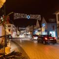 Bühl im Advent - beleuchtete Hauptstraße