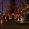 Bühl im Advent - beleuchteter Kirch- und Marktplatz