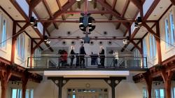 Neujahrs-Talk auf der Empore im Friedrichsbau