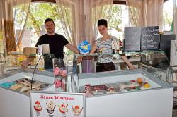 Vincenzo und Tatjana Pollari