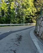 Straßenschäden in Neusatz