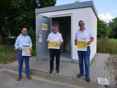 Daniel Fritz, Hubert Schnurr und Markus Benkeser