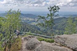 Panorama-Aussicht auf dem Gertelbach-Rundweg