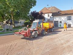 Arbeiten auf dem Bolz- und Festplatz