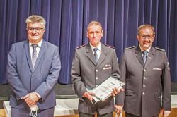 Alfred Seiler wurde zum Ehrenabteilungskommandanten der Freiwilligen Feuerwehr Bühl, Abteilung Oberbruch, ernannt.