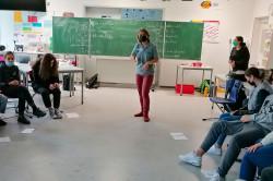Workshop in der Aloys-Schreiber-Schule