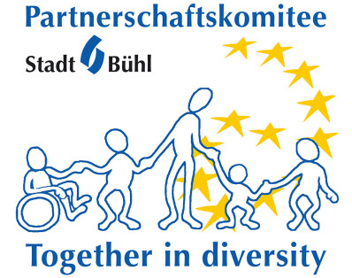 Logo Partnerschaftskomitee - Together in diversity