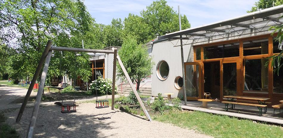 Hof des Bühler Kinderhaus in Bühl