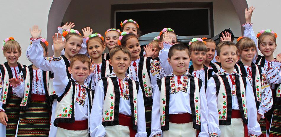 Volkstanzgruppe in Kalarasch