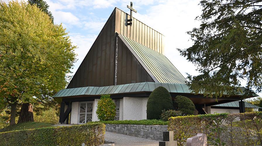 Friedhof Kappelwindeck - Einsegnungshalle