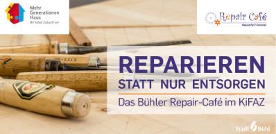 Titelseite des Repair-Café-Flyers