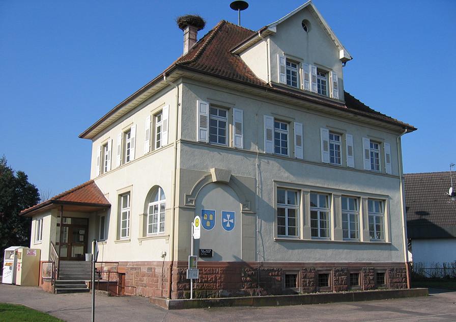Bürgersaal in Oberweier