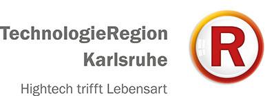 Logo der TechnologieRegion Karlsruhe - Hightech trifft Lebensart