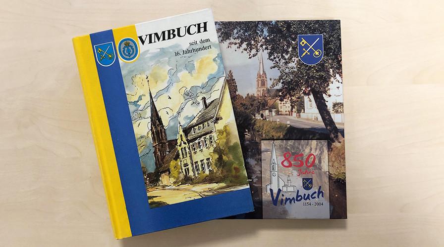 """Bücher """"Vimbuch seit dem 16. Jahrhundert"""" und """"850 Jahre Vimbuch 1154 – 2004"""""""