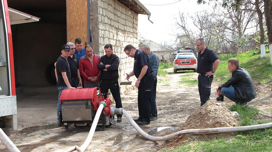 Feuerwehr in Kalarasch