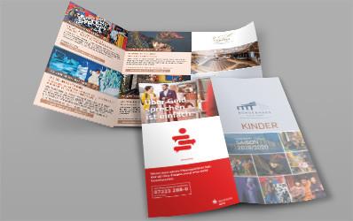 "Programm-Broschüre ""Kinder"" Saison 2019/2020"""
