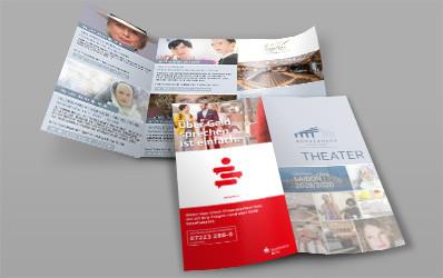 "Programm-Broschüre ""Theater"" Saison 2019/2020"""