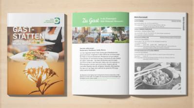 Gaststätten-Broschüre