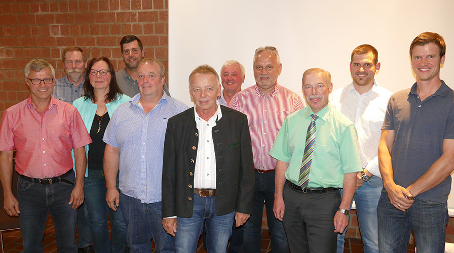 Gruppenbild vom Ortschaftsrat in Bühl-Neusatz