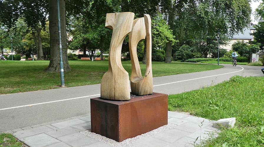 """Kunstprojekt Artothek - Christian Gospos – """"Beziehung"""""""