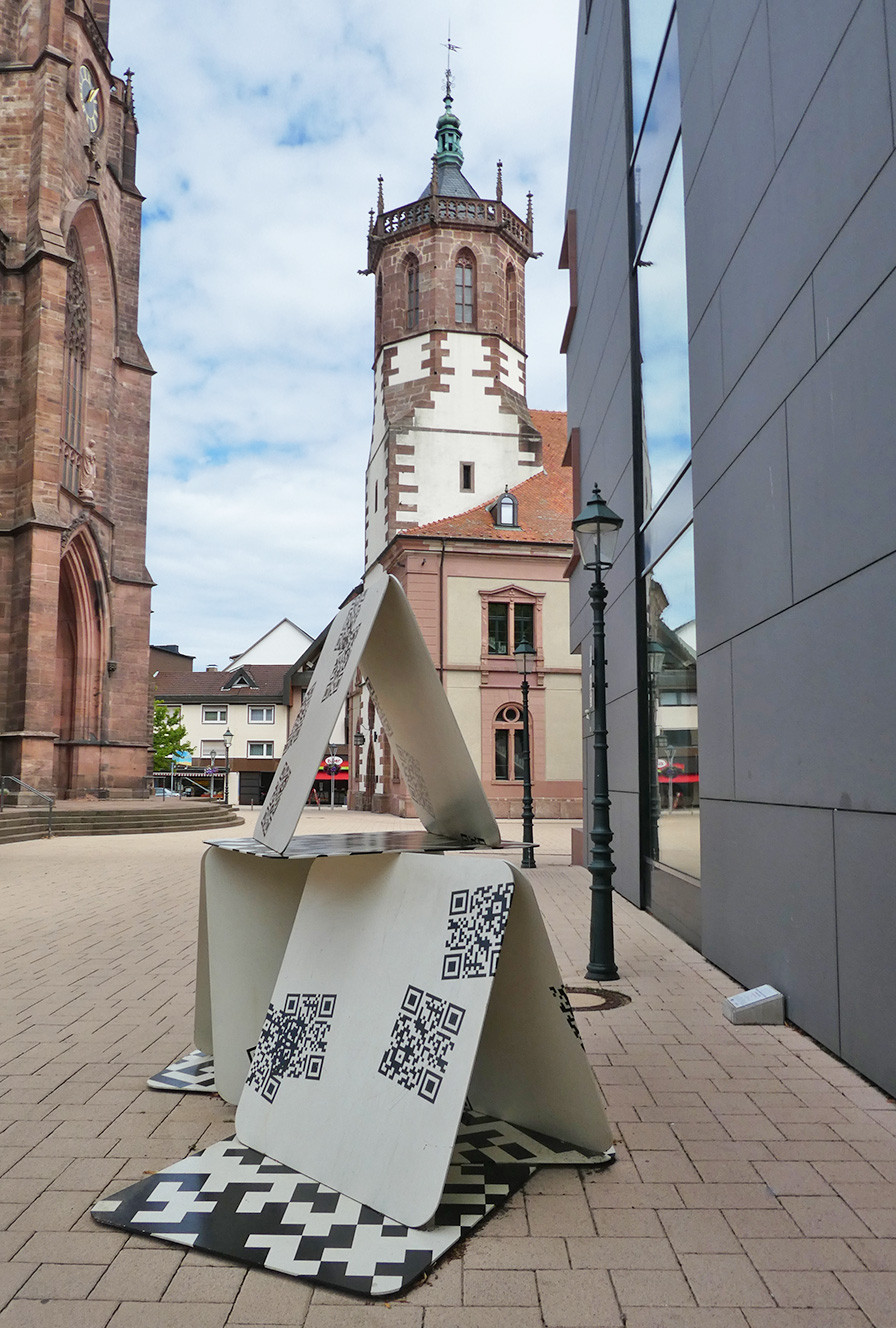 """Kunstprojekt Artothek - Manfred Emmenegger-Kanzler – """"Kartenhaus – Die sieben Todsünden"""""""