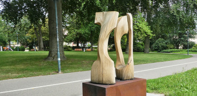 Kunstobjekt im Stadtgarten