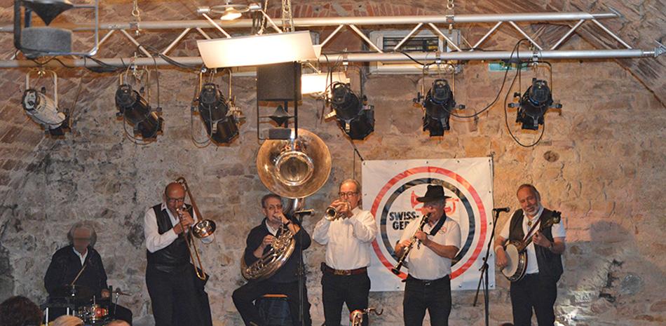 Band-Auftritt im Schütte-Keller