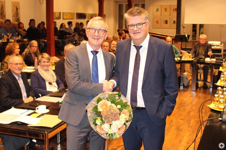 Wolfgang Jokerst bleibt Bürgermeister