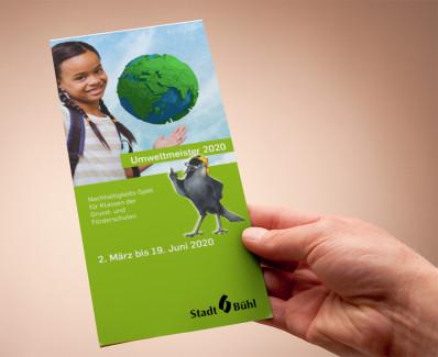 Flyer Umweltmeister 2020