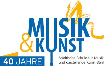 Logo Musikschule - 40 Jahre