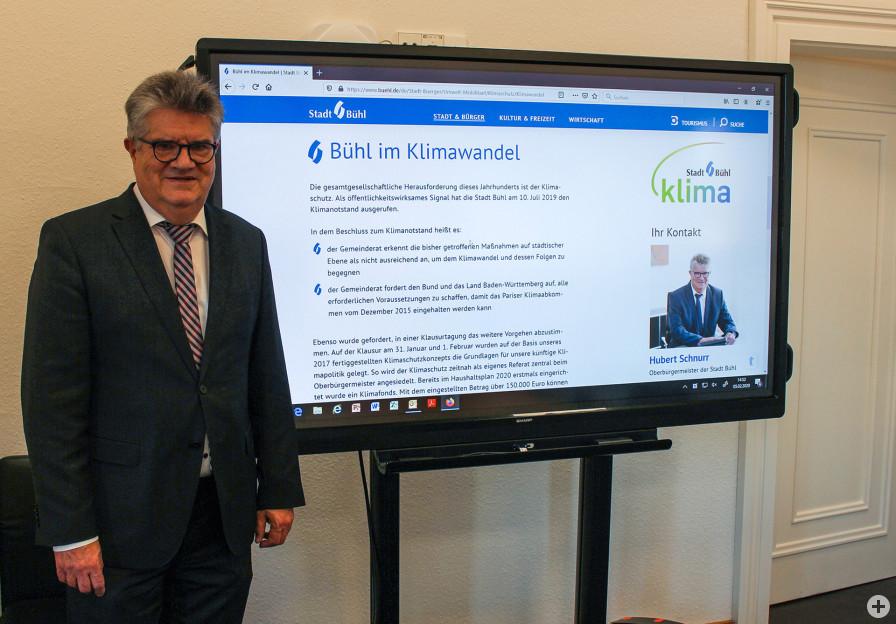 Oberbürgermeister Hubert Schnurr