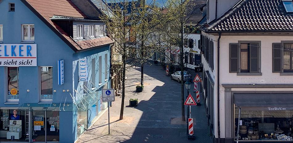 Schwanenstraße in Bühl