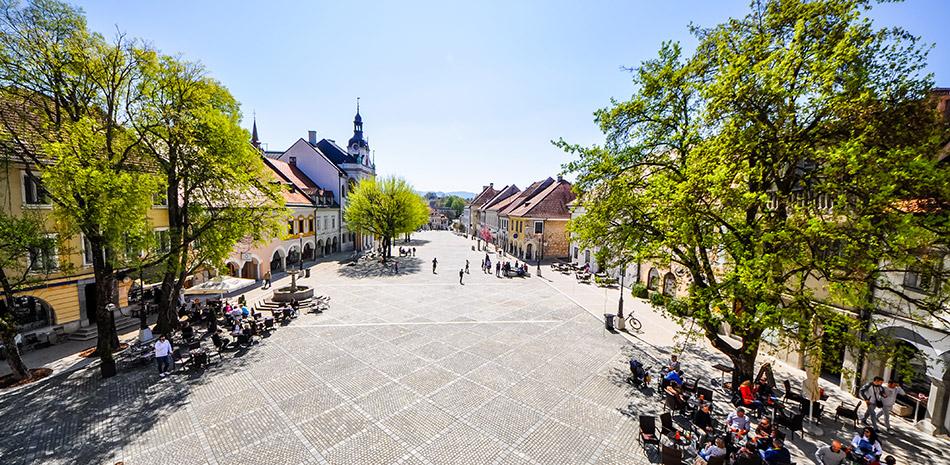 Innenstadt Novo Mesto