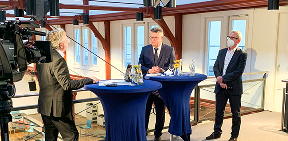 Neujahrs-Talk im Friedrichsbau