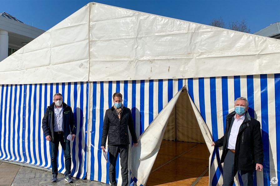 Kommunales Testzentrum auf dem Europaplatz geht am 24. März in Betrieb