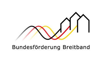 Logo Bundesförderung Breitband