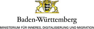 Logo Baden-Württemberg - Ministerium für Inneres, Digitalisierung und Migration