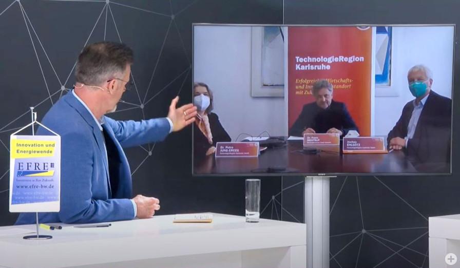 Zuschaltung TechnologieRegion Karlsruhe