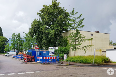 Bereich Bachschlossschule Bühl (Ecke Nelkenstraße / Sportweg)