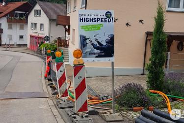 Otto-Stemmler-Straße Neusatz / Höhe Feuerwehr
